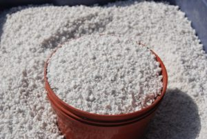 soilless medium perlite