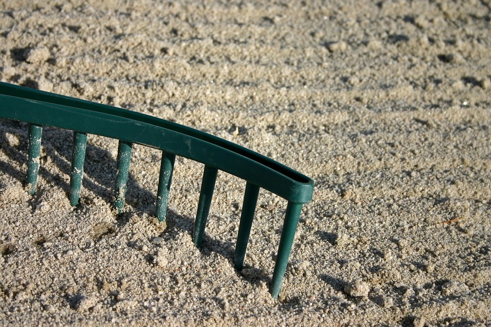 sand and gardening