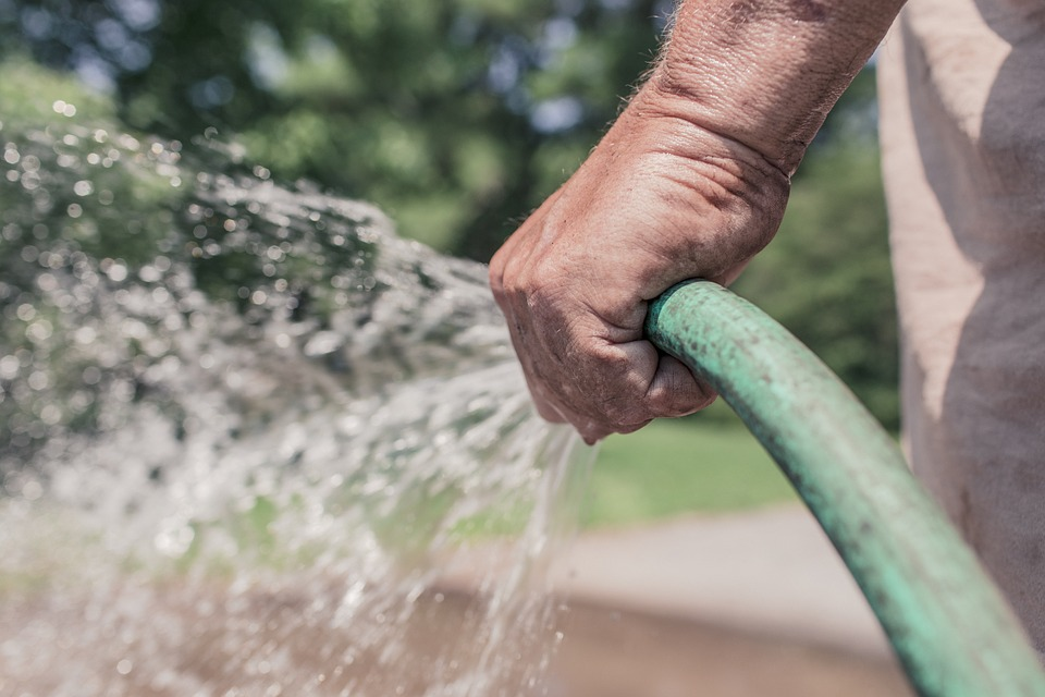 watering your compost pile